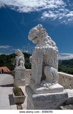 Sevnica Castle, Slovenia, Europe - Stock Image