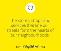 What makes your neighbourhood unique? #shopthehood
