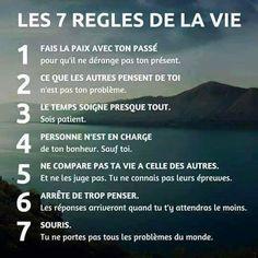 Avancer en positivant: Les 7 règles de la vie
