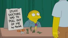 30 Times Ralph Wiggum Charmed Us With His Innocent Stupidity – Funnyfoto Simpsons Funny, Simpsons Art, Funny Vid, Funny Memes, Jokes, Ralph Wiggum, First World Problems, Old Shows, Picture Video
