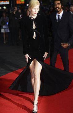 Nicole Kidman at Lion premiere in London with Dev Patel