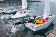 Ready? Set... Go! Optimist Sailing Dinghy Racing