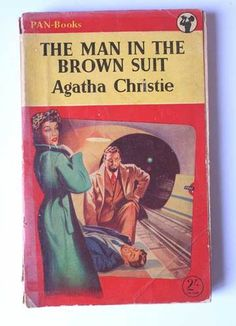 The Man in the Brown Suit (1924)   Agatha Christie   Pinterest ...