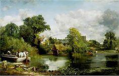 """El caballo blanco"" John Constable"