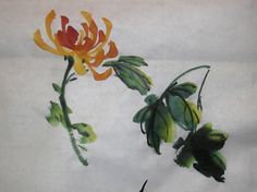demo painting - 谭嘉陵 Chinese Traditional Brush Painting