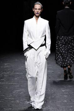 @Haider_Ackermann #catwalk #trends #black_white #PFW #Paris #SS_2013 #in