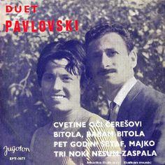 MUZIKA BALKANA - BALKAN MUSIC: Duet CVETA i PETAR PAVLOVSKI - Cvetinite oči čereš...