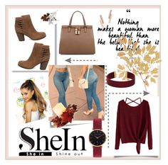 """""""SheIn"""" by sadeta-v ❤ liked on Polyvore featuring Post-It, Steve Madden, Dolce&Gabbana, Abbott Lyon, ZoÃ« Chicco, Order Home Collection and outfit"""