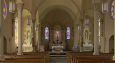 This is where Tim and I are getting married...  St. Paul Catholic Church in St. Paul, MO <3