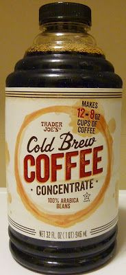 What's Good at Trader Joe's?: Trader Joe's Cold Brew Coffee Concentrate