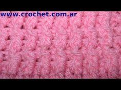 ▶ Punto Elástico Simple en tejido crochet, tutorial paso a paso. - YouTube