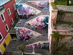 By Alice Pasquini - In Salerno, Italy.