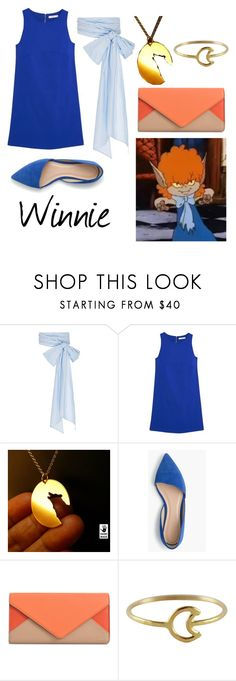 """""""Winnie from Scooby Doo Ghoul School"""" by krusi611 ❤ liked on Polyvore featuring MDS Stripes, MANGO, J.Crew, Chloé and Stefanie Sheehan Jewelry"""