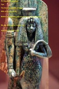 Queen Tiye and her parents Yuya and Tjuyu were also rhesus negative