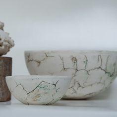 Deze schalen zijn nu ook te koop bij Keramiek in de Polder.  These bowls are now available in my Etsy shop Keramiek in de Polder.   #handgemaakt #handmade #ceramics