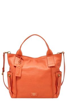 Fossil 'Emerson' Leather Satchel available at #Nordstrom