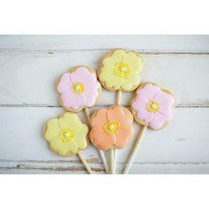 poppy sugar icing cookies