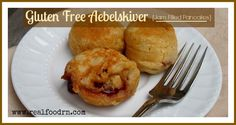 Gluten free aebelskiver of course. Let me tell you, these little delights are not only tasty, but they are also super fun to make!