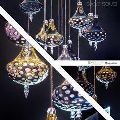 SANS SOUCI  | ID RUNWAY. www.ss-gd.com, #euroluce2015, #salonedelmobile2015, #lightingdesigntrend, #modernlamp, #lamptrend, #cristallamp, @sanssouci