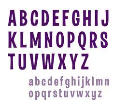 Violet free font by Stas Arsenyev, via Behance