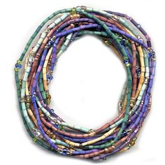 Zulugrass Single Strand Necklaces - Set of 6 - Earth Day 2010
