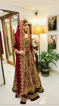 Fulfill a Wedding Tradition with Estate Bridal Jewelry Latest Bridal Dresses, Beautiful Bridal Dresses, Asian Bridal Dresses, Asian Wedding Dress, Pakistani Wedding Outfits, Pakistani Wedding Dresses, Pakistani Dress Design, Bridal Outfits, Anarkali Bridal