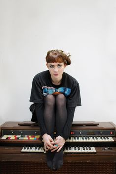 Although the end results are very different, Grimes & I approach making music & art very similarly. Check her out.