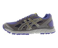 ASICS Womens GELScram Running ShoeViolet StormTitaniumYellow85 M US >>> Be sure to check out this awesome product.(This is an Amazon affiliate link)