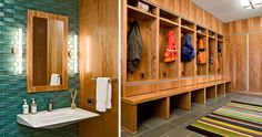 Is it a mudroom, or a locker room?
