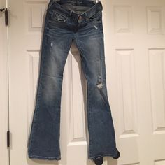 American Eagle jeans American Eagle jeans in great condition! Original boot. Size: 2. Only have been worn a few times. American Eagle Outfitters Jeans