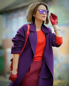 Fashion Week, Fashion 2020, Look Fashion, Fashion Outfits, Fashion Trends, Fashion Ideas, Colour Combinations Fashion, Color Combinations For Clothes, Color Blocking Outfits