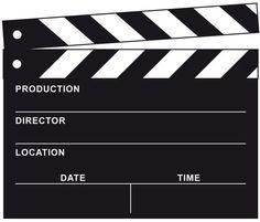 Freebie Filmklappe z.B. für Einladungen