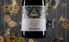 Quinta da Mariposa Takes Flight — The Dieline   Packaging & Branding Design & Innovation News