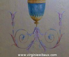 Exemple d'ornementation. Sur devis. www.virginiewibaux.com