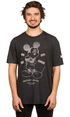 Neff Men's Relax Tee (Tri-Blend) (Mickey), Black, M Best Price