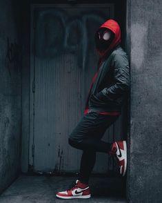 Spiderman Poses, Spiderman Pictures, Black Spiderman, Spiderman Cosplay, Spiderman Art, Amazing Spiderman, Marvel Cosplay, Miles Morales Spiderman Costume, Miles Morales Costume