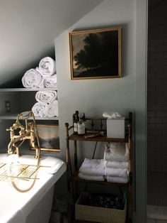 The winner of the 2017 Remodelista Considered Design Awards Best Amateur Bath space is Juliet Feehan for her Hudson Valley Farmhouse Bathroom Remodel in Ac Bad Inspiration, Bathroom Inspiration, Bathroom Interior, Modern Bathroom, Budget Bathroom, Bathroom Furniture, Small Bathroom, Bathroom Ideas, Shower Bathroom