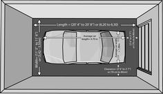 garage size for one car. one car garaze, one car garaze measurements on double garage dimensions standard, double vanity size, double garage dimensions minimum, double standard garage size, double gym size, double doors size, typical car size, double stove size, double garage building, double g size,