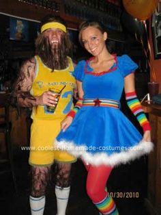 Coolest Teen Wolf DIY Halloween Costume  sc 1 st  Pinterest & Crafty Lady Abby - COSTUME: Rainbow Brite   COSTUMES   Pinterest ...