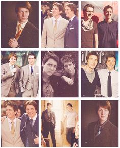 James and Oliver Phelps <3 The Weasley Twins