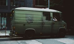 Not a conversion per se, but still cool! Mercedes 508D spotted by a fellow photog in East Village NYC
