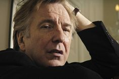 19 Facts About Alan Rickman | His languid yet still silky tone that was unique to this actor came about of a speech impediment that he was born with. His speech impediment was caused by his jaw being unable to move properly.