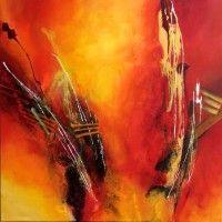 Deepwork Acryl auf Leinwand / acrylic on canvas 80 x 80 cm  Preis auf Anfrage / price on request
