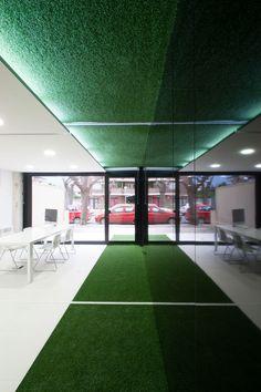 #Oficina #moderno #contract via @planreforma #accesorios #rehabilitación #suelos