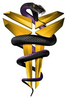 Kobe Bryant logo: Black Mamba incorporate full scale detail