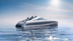 Mercedes-Benz Style presents the final design of the 'ARROW460 - Granturismo' at the Monaco Yacht Show.