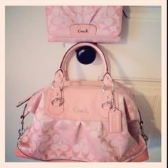 Matching Accessories Love Coach. My husband always buys me a new Coach handbag for special occasions