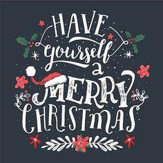 Printable Christmas Cards - Have Yourself Merry Blackboard Free Printable Christmas Cards, Christmas Card Template, Greeting Card Template, Vintage Greeting Cards, Christmas Greeting Cards, Birthday Greeting Cards, Bday Cards, Merry Christmas Calligraphy, Merry Christmas To You