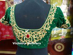 Top 12 Designer Studios In Coimbatore Are Showing The Brides What 'Wedding Trends' Are! – Part 2 Silk Saree Blouse Designs, Blouse Designs Silk, Bridal Blouse Designs, Blouse Patterns, Bridal Lehenga Collection, Neckline Designs, Indian Wedding Planning, Indian Wedding Hairstyles, Work Blouse
