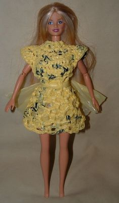 Google Image Result for http://www.myrecycledbags.com/wp-content/uploads/2008/11/yellow-barbie-dress.jpg